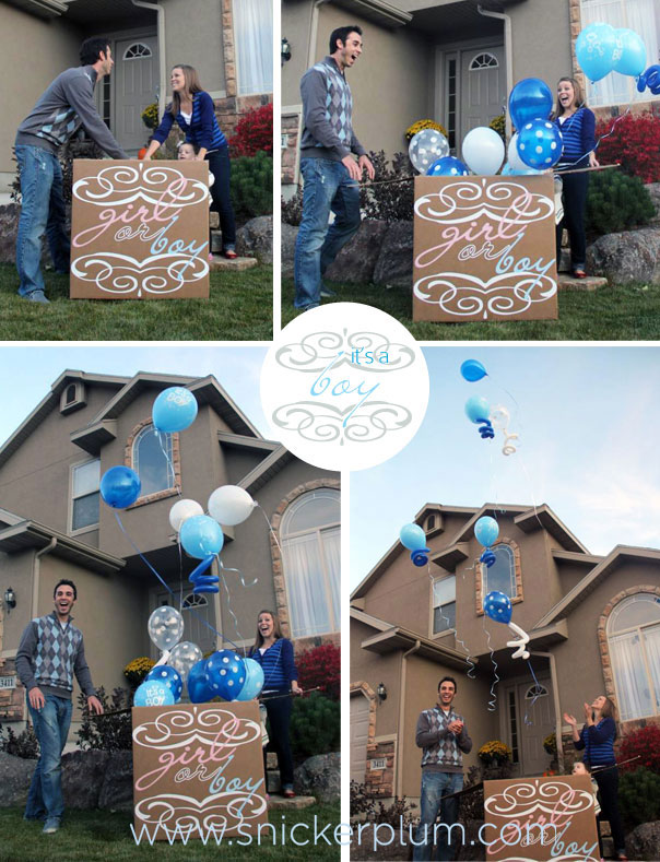 Gender Reveal Party- Reveal How To | Snickerplum's Party Blog ...