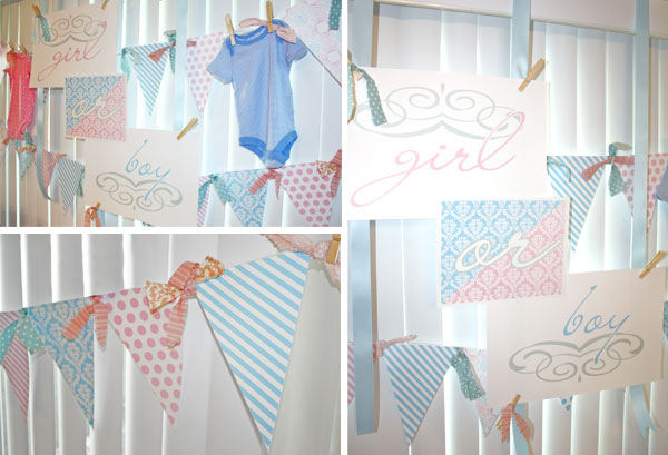 Gender Reveal Party Decor Snickerplum S Party Blog