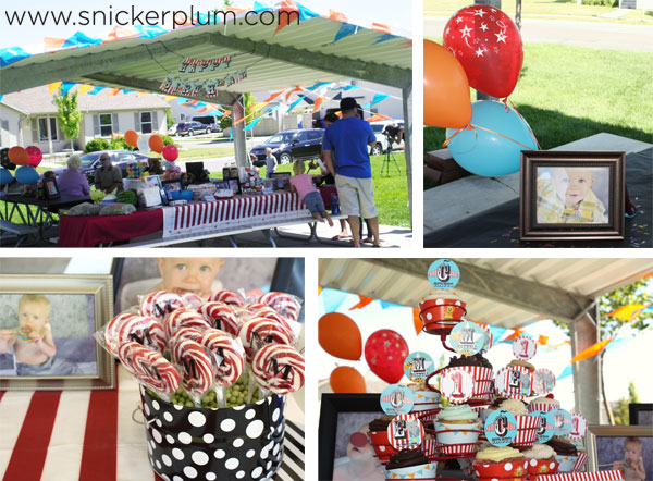 Putting Food Labels On Your Table Can Help Organize And Decorate At The Same Time Our Circus Birthday Party Complete Package Comes With Up To 6 Different
